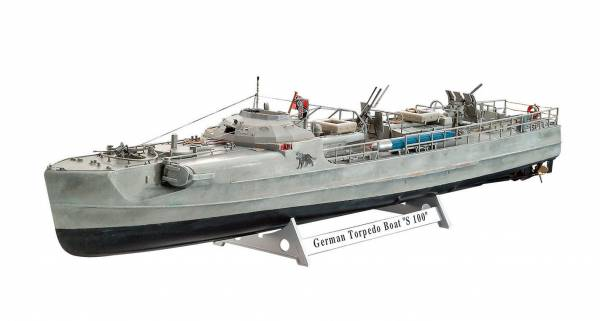 German Fast Attack Craft S-100 1:72 05162
