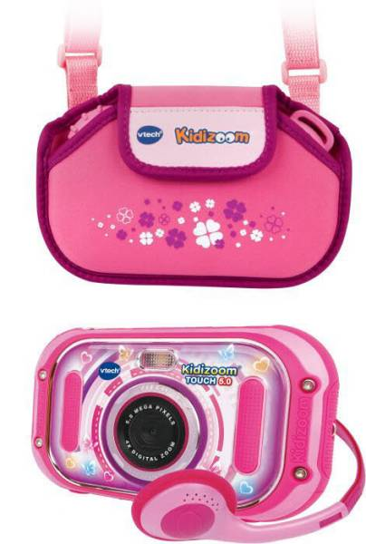 KidiZoom Touch 5.0 pink inkl. Tragetasche pink 80-163599
