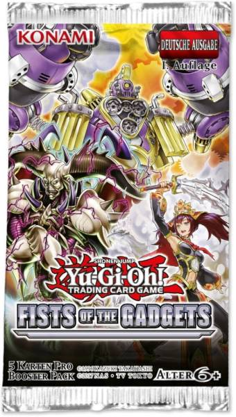 Yu-Gi-Oh! Fist of the Gadgets Booster 74200