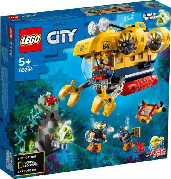 LEGO® City Meeresforschungs-U-Boot 60264