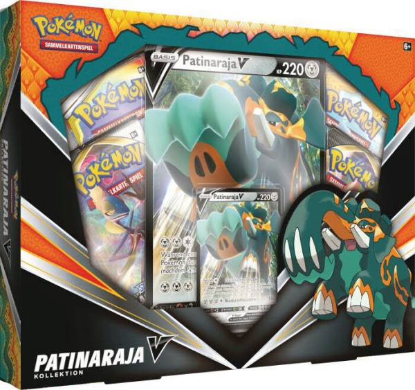 Pokémon Patinaraja-V Box 45189