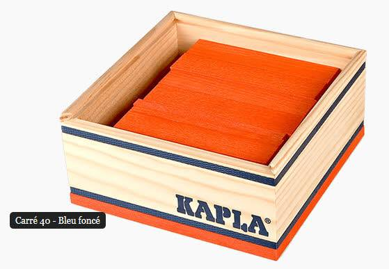 Kapla Box 40 Teile orange C40O