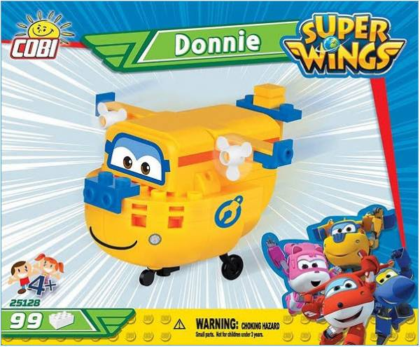 Donnie Super Wings 99 Teile 25128
