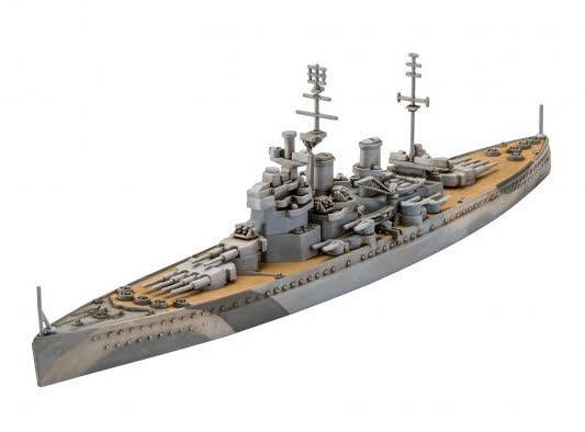ModelSet HMS King George V 1:1200 65161