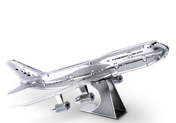 Metal Earth Commercial Jet Boing 747 502502