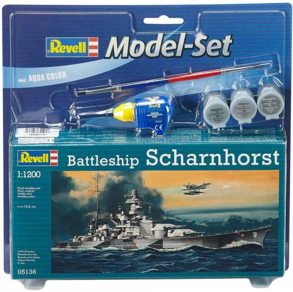 Model Set Scharnhorst 1:1200 65136 - Bild 1