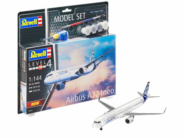 Model Set Airbus A321 Neo 1:144 64952