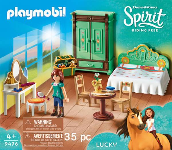 PLAYMOBIL 9476 Luckys Schlafzimmer 9476