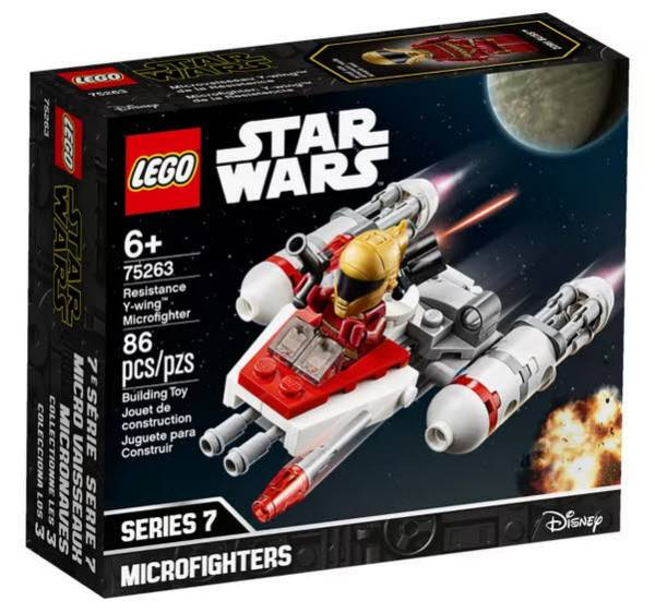 LEGO® Star Wars Widerstands Y-Wing Microfighter 75263