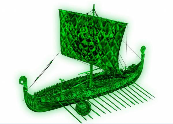 REVELL Viking Ghost Ship 1:50 05428
