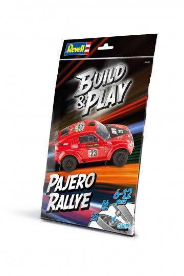 Build & Play Pajero Rallye 1:32 06401 - Bild 1