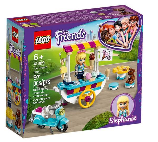 LEGO® Friends Stephanies mobiler Eiswagen 41389 - Bild 1