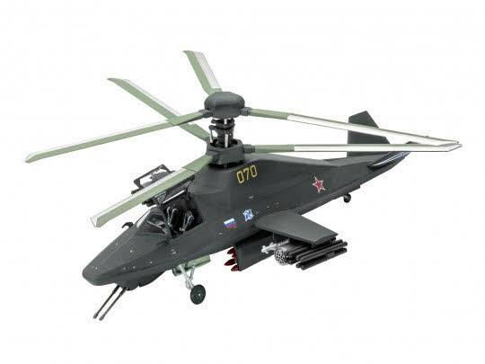 Model Set Kamov Ka-58 Stealth 1:72 63889