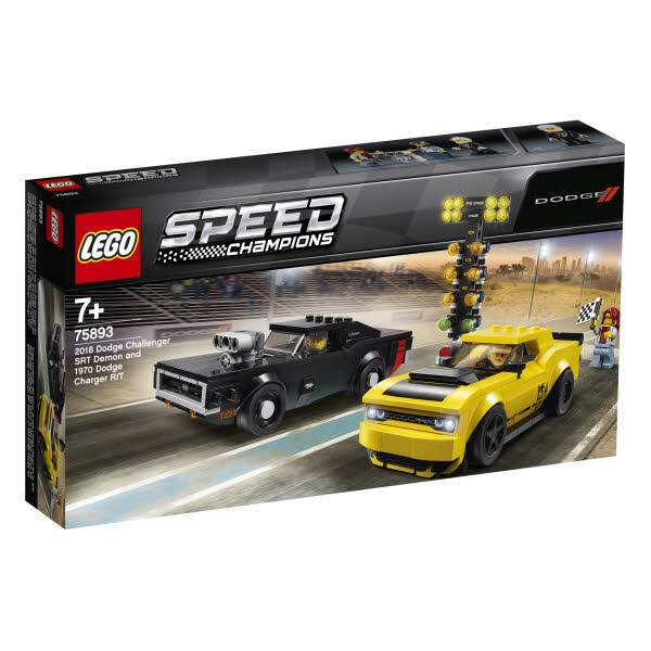 LEGO® Speed Champions 2018 Dodge Challenger & Charger 75893