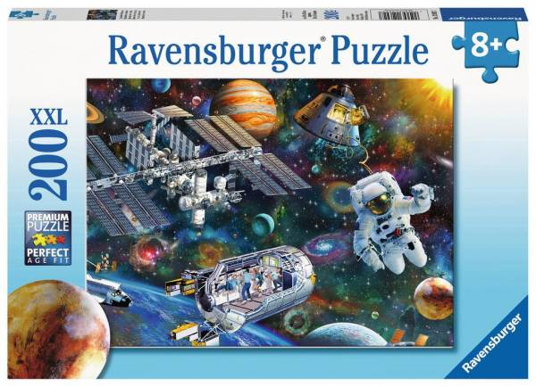 Puzzle Expedition Weltraum 200 Teile XXL 126927