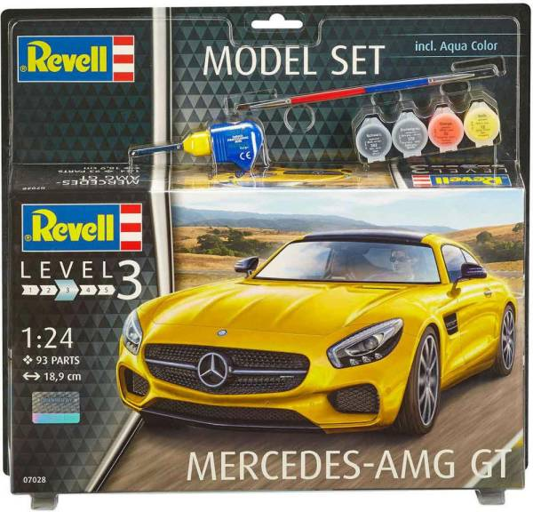 Mercedes AMG GT 1:24 Model Set 67028 - Bild 1
