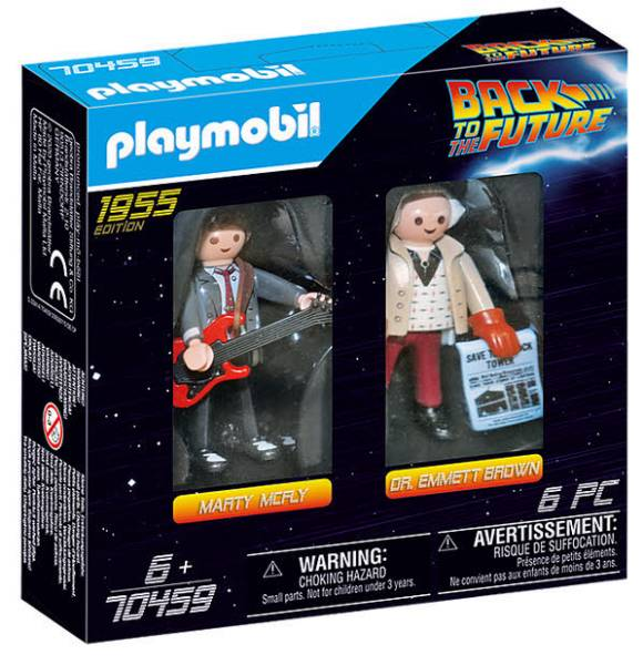 Back to the Future Marty Mcfly und Dr. Emmett Brown 70459