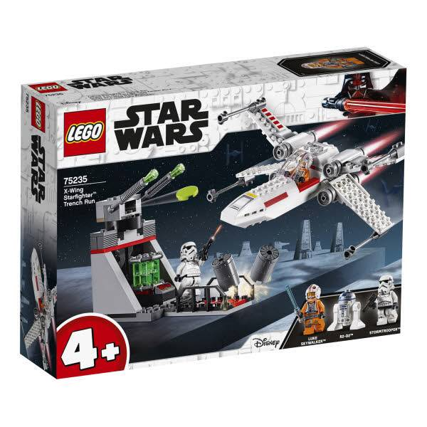 LEGO® Star Wars X-Wing Starfighter Trench Run 75235