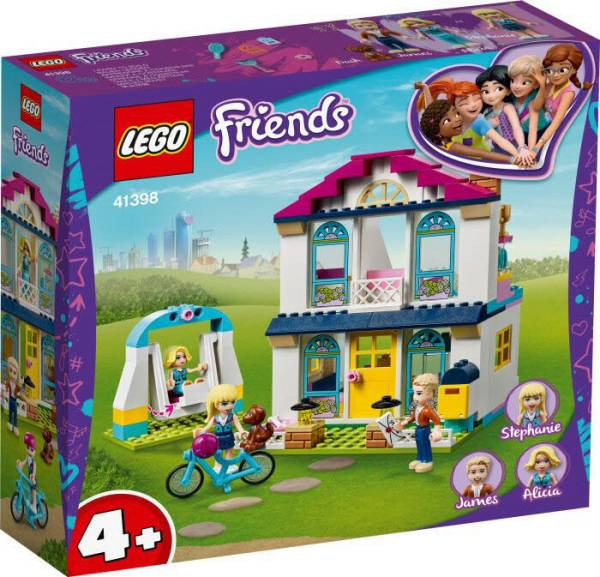 LEGO® Friends Stephanies Familienhaus 41398