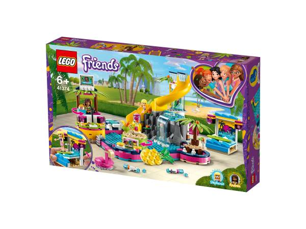 LEGO® Friends Andreas Pool-Party 41374 - Bild 1