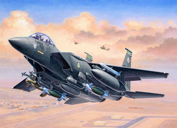 F-15E Strike Eagle & Bombs 1:144 03972 - Bild 1